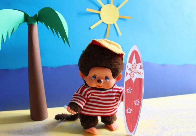 Kiki à la plage